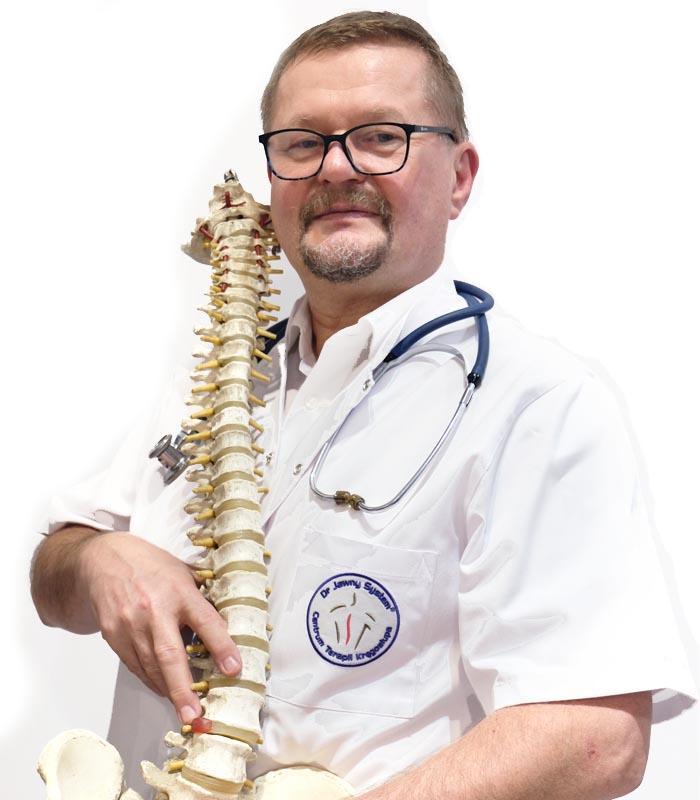 lekarz rehabilitacji kręgosłupa