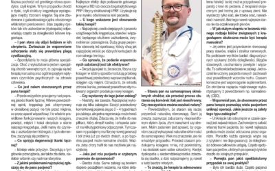 Regeneracja czy operacja? Rozmowa z dr. JAROSŁAWEM JAWNYM, spondyliatrą z Centrum Terapii Kręgosłupa we Wrocławiu